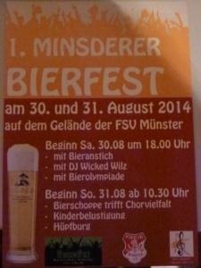 Minsderer Bierfest 2014