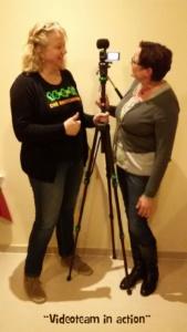 Videoteam in action