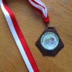 Medaille Radsport 2015