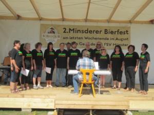 2. Mindsderer Bierfest 2015, Auftritt Da Capo