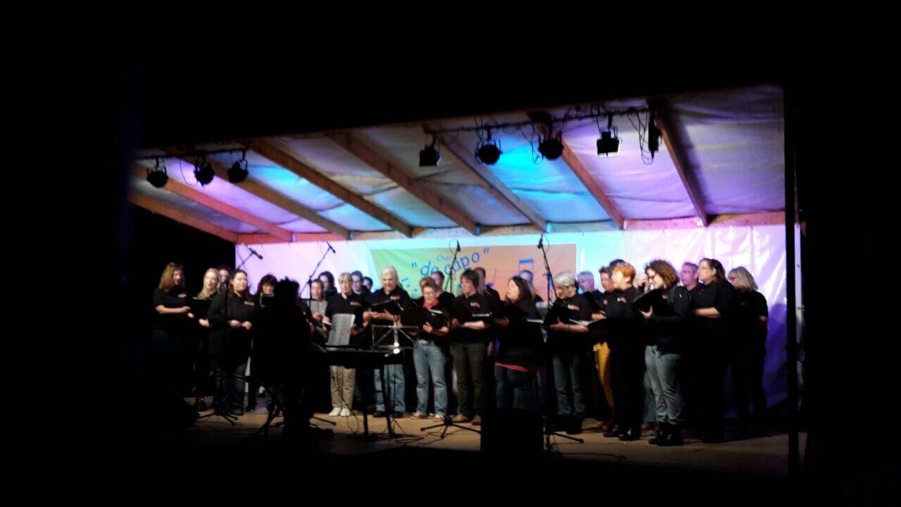 "Flame Premiere bei 11. Open Air von ""da capo"""